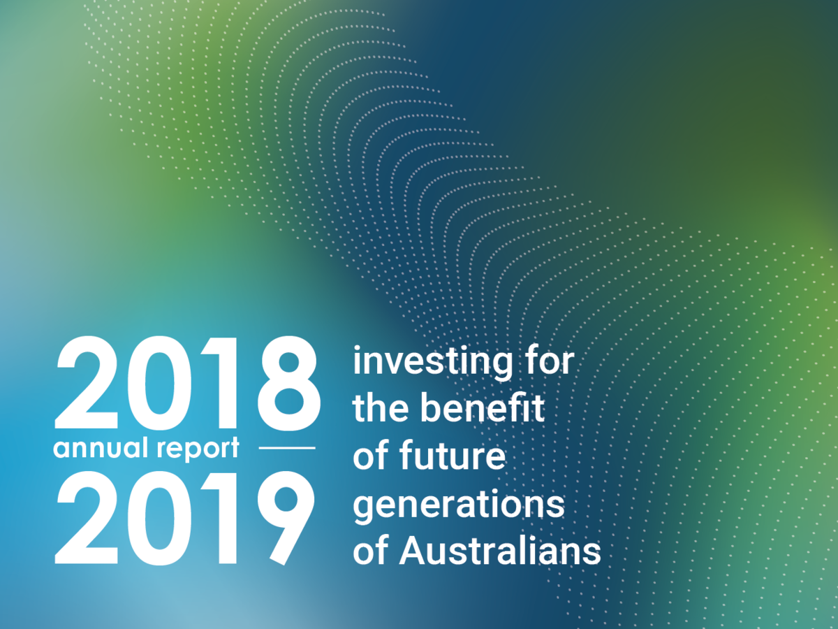 Future Fund 2018-19 Annual Report
